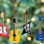 Rock'n'roll christmas tree decorations