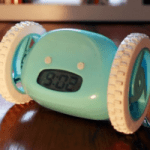 Alarm Clock on Wheels