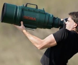worlds largest camera lens