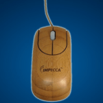 Bamboo Computer Mouse