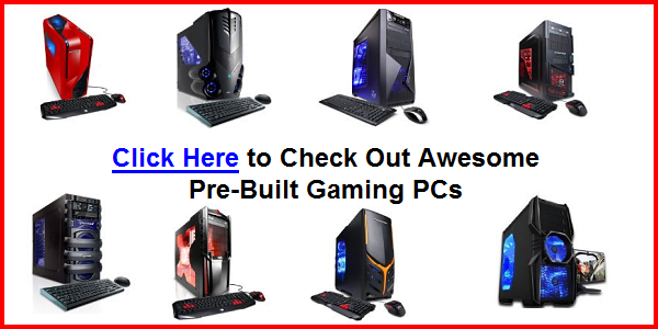 Best Gaming PC 2013