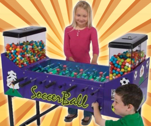 Foosball Gumball Machine