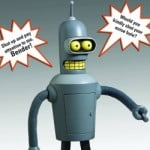 Talking Bender Figure