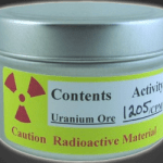 Radioactive Uranium Ore