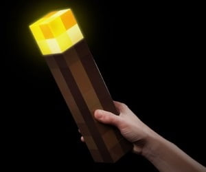 Minecraft Torch | Awesome Geek Stuff - The Online Geek ...