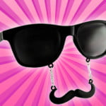 Mustache Sunglasses