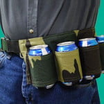 Beer Can Holster Belt