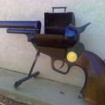 1873 Colt Peacemaker BBQ Grill