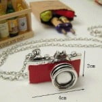 Retro Camera Necklace
