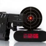 Shooting Target Alarm Clock