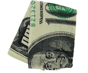 Dollar Bill Towel