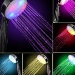 Color Led Shower Head