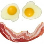 Rise & Shine Bacon Face Magnet Pack