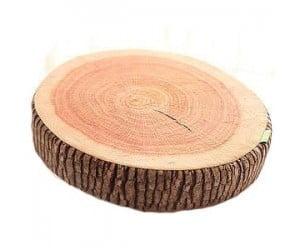 Wood Stump Pillow