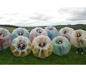 Bubble Soccer Ball Suit