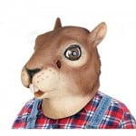 Creepy Squirrel Full Head Mask