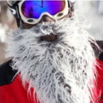 Beardski Gray Ski Mask