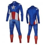 Captain America Winter Suit