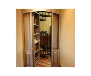 Hidden Door Hinge System