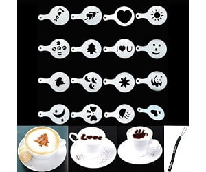 Latte Spray Art