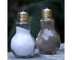 Salt and Pepper Light Bulb