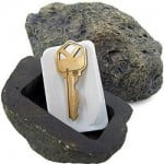 Realistic Rock Key Holder