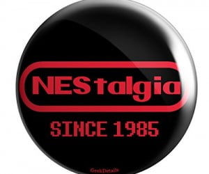 NEStalgia Pin Button