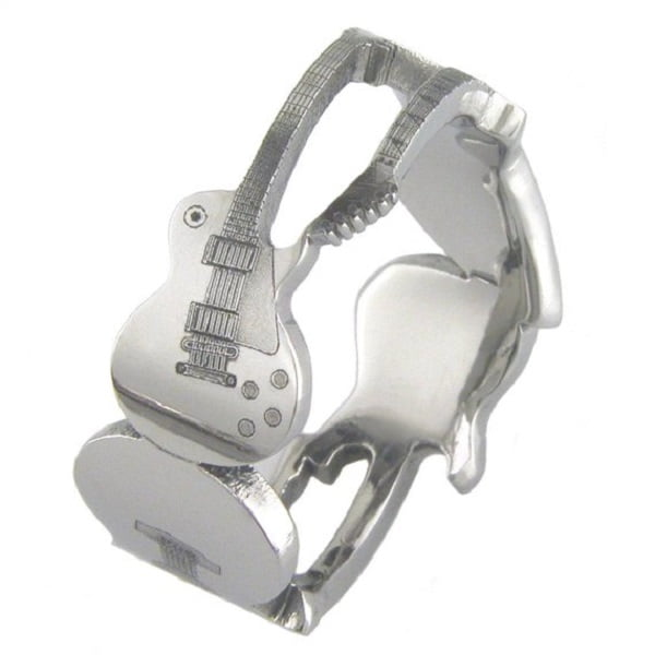 The Axes Titanium Guitar Cool Ring