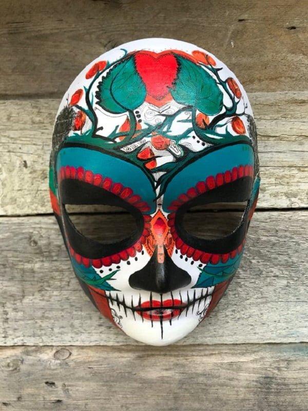 Catrina Sugar Skull Mask