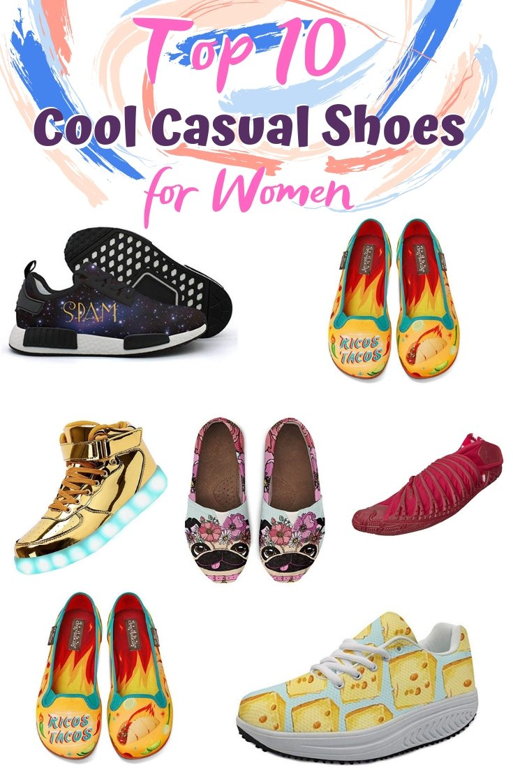 These are all the top cool casual shoes you'll love to won. Great list! #shoes #forher