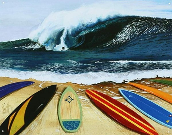 Cool Surfing Painting