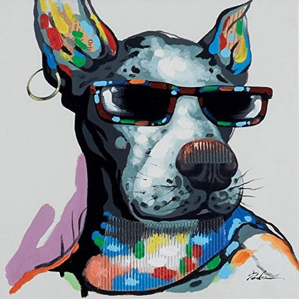 Cool Hip Dog Painting