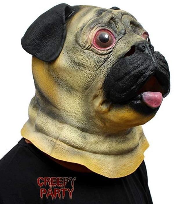 Pug Head Mask