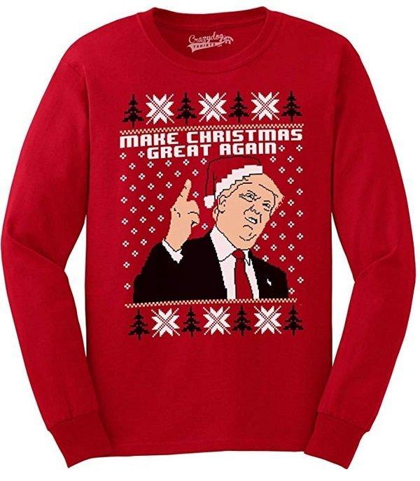 Trump Make Christmas Great Again Sweater