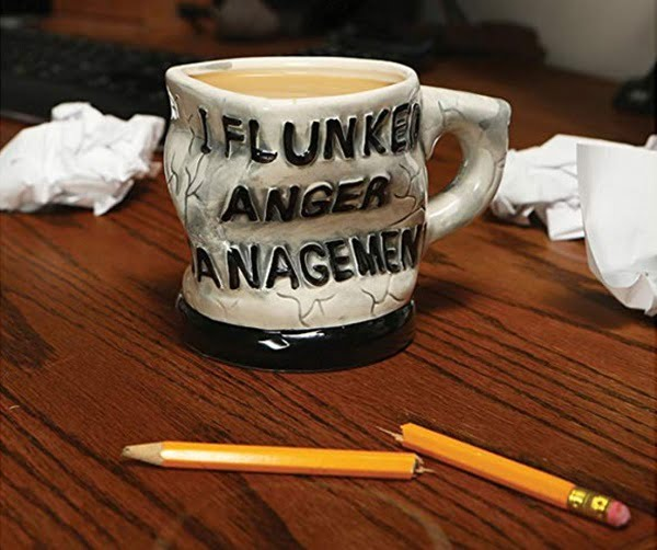 Anger Management Funny Coffee Mug #giftideas #giftsforhim