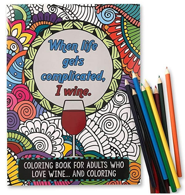 Funny Coloring Book for Adults