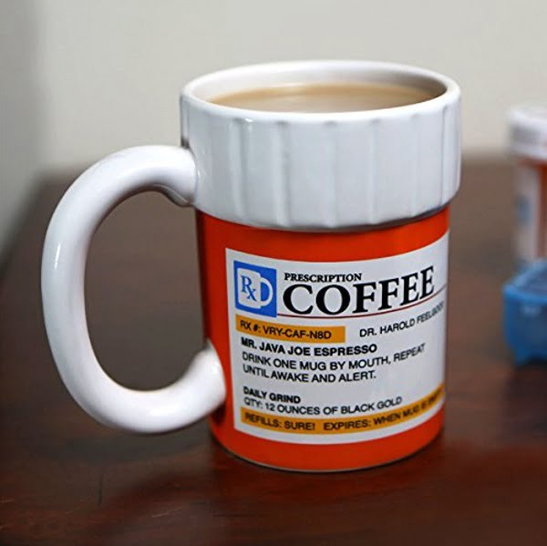 Prescription Coffee Mug #giftideas #giftsforhim