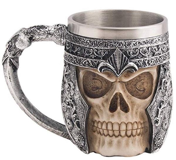 Viking Skull Coffee Mug #giftideas #giftsforhim