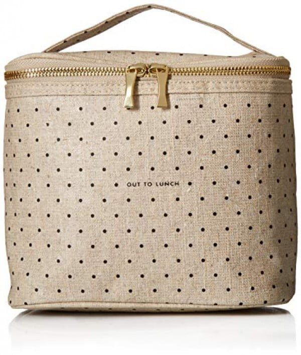 Kate Spade New York Lunch Tote, Deco Dots (Out To Lunch), Canvas #lunchbox #gifts #giftideas