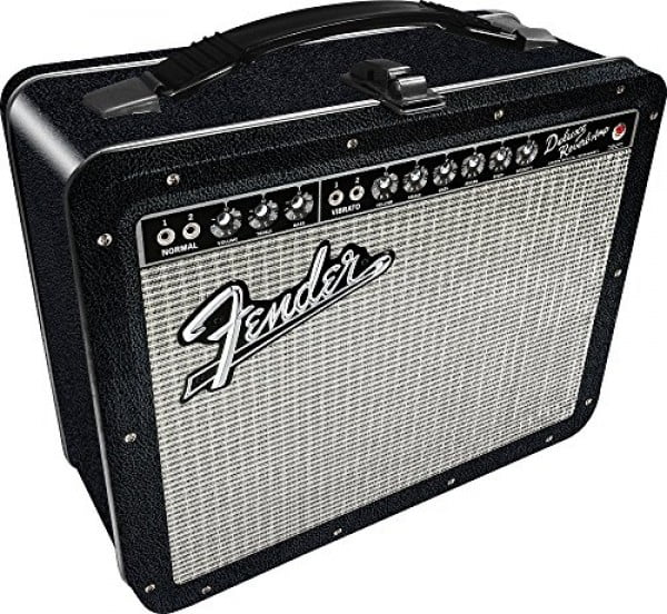 Aquarius Fender Amp Large Gen 2 Tin Storage Fun Box #lunchbox #gifts #giftideas
