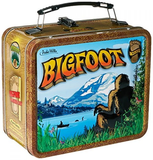 Accoutrements 12493 Bigfoot Lunchbox, Multi #lunchbox #gifts #giftideas
