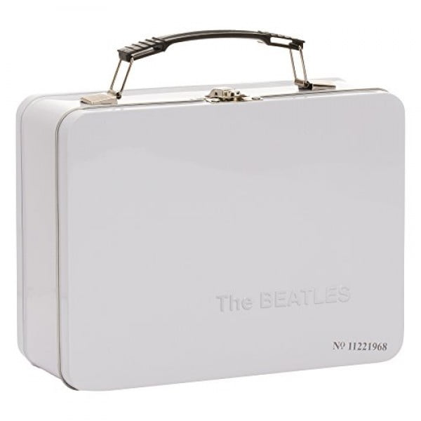 Vandor 72970 The Beatles Limited Edition White Album Large Tin Tote, 9 x 3.5 x 7.5 Inches #lunchbox #gifts #giftideas