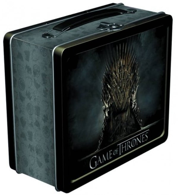 Dark Horse Deluxe Game of Thrones: Iron Throne Lunchbox #gameofthrones #gifts #giftideas