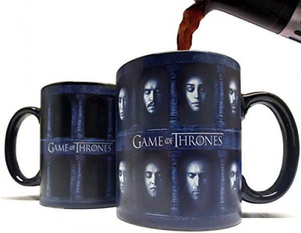 Many Faced God Heat Sensitive Color Changing Mug/Cup #gameofthrones #gifts #giftideas
