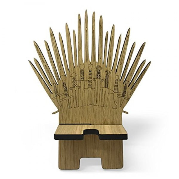 Game of Thrones Parody Wooden Phone Stand. Charging Station #gameofthrones #gifts #giftideas