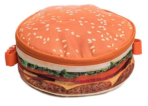 Hamburger lunchbox #giftidea