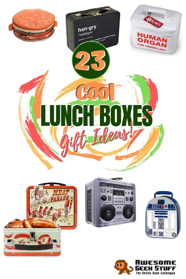 These lunch boxes are so cool they make food taste better. Great as gifts! #lunchbox #giftideas #gifts