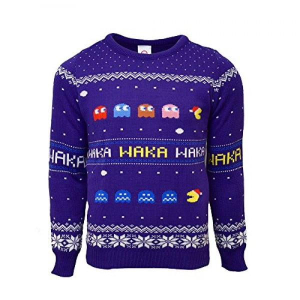 Pac-Man Official Christmas Jumper/Ugly Sweater #pacman #geek #giftideas #gifts