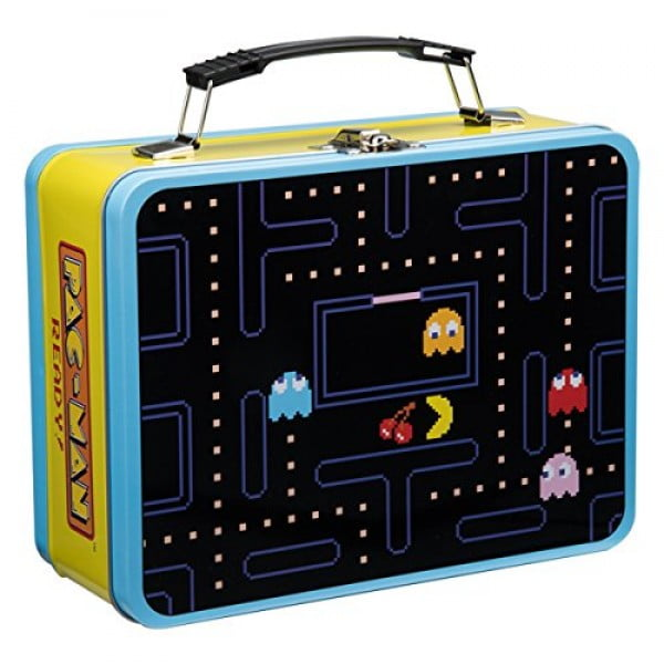 Vandor 69070 PAC-MAN Large Tin Tote, Multicolored #pacman #geek #giftideas #gifts