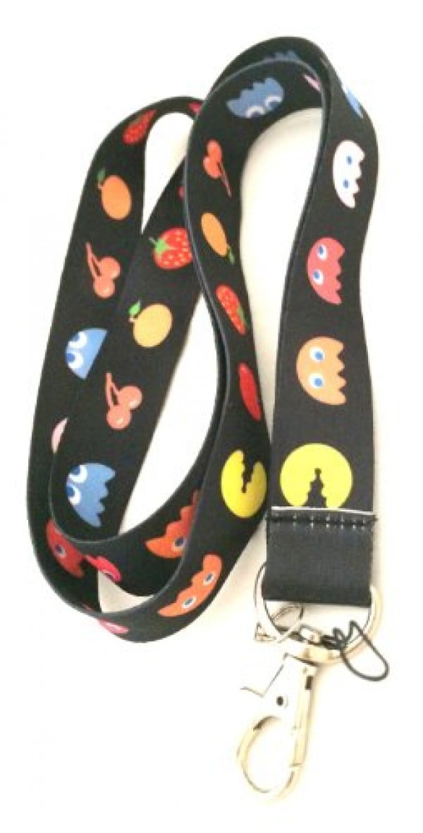 Pac-Man Anime Fashion Lanyard Key Chain Holder #pacman #geek #giftideas #gifts